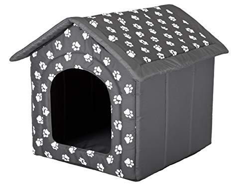 Hundehöhle mit Pfoten