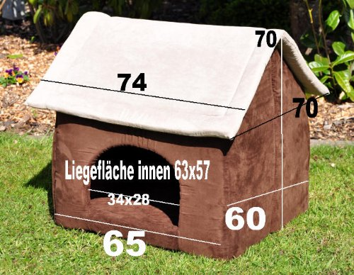 Riesige XXL Hundehöhle Chalet Cosy - 3