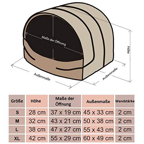 BUSJBL6R4 Souffleur Hundehöhle  S-XL (XL (60 x 49 cm)) - 6