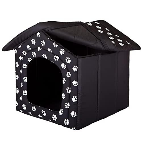 Hobbydog Hundehütte, Größe 3, 52x46cm, aushaltbares Codurastoff, waschbar bei 30 ° C, Beständigkeit gegen Kratzer, EU-Produkt - 4