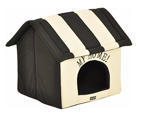 nanook Hundehaus Hundehöhle Adrian Größe L schwarz beige - 4