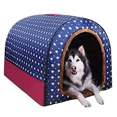 Luxus Hundehütte Vier Jahreszeiten Iglu, XXL, 92*68*72cm