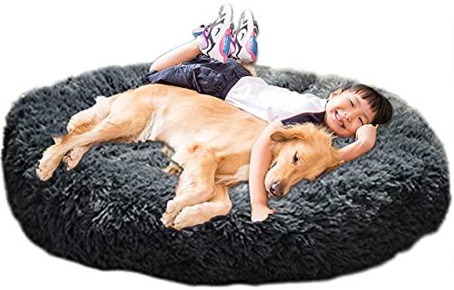 XXL Orthopädisches Hundebett, Grau