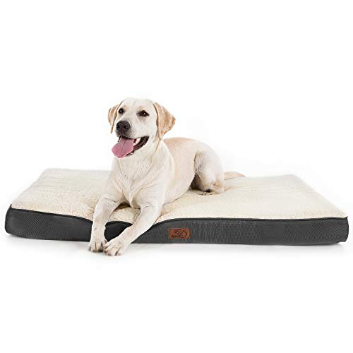Bedsure orthopädisches Hundebett - 110x80x8