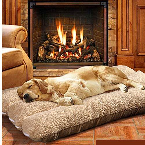 Hundebett XXL Hundematte Waschbar 125 x 80 x 12 cm