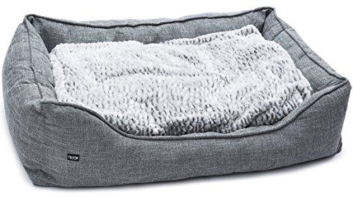 PetPäl Premium Hundebett - Größe XXL mit warmer Polsterung & rutschfestem Boden