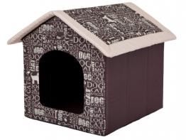 """Hundehöhle """"Wörter"""" Katzenhöhle Hundehütte Hundebett Katzenbett S-XL (XL 60x55cm) - 1"""